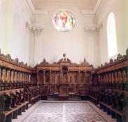 55 -Brindisi. Interno Cattedrale o Duomo. Coro ligneo del 1594