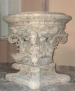 58 -Brindisi. Interno Cattedrale. Fonte battesimale