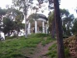 Foggia - Tempietto neoclassico nella Villa Comunale