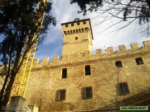 5 - Il Castello di Rocca delle Caminate. La torre.