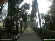 2 - Il Castello di Rocca delle Caminate, Viale per d'ingresso.