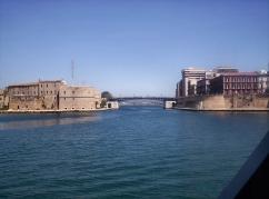 7 -Ingresso in Mar Piccolo - Il Ponte girevole