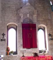 20 - Trani. Interno della sinagoga
