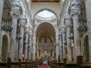 32 -Lecce. Basilica di Santa Croce, interni.