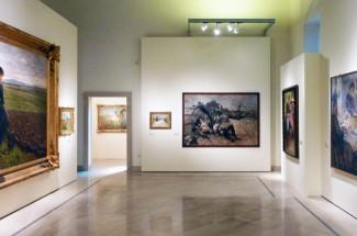 """30 - Barletta, interno del palazzo, l'odore della luce. Il mondo femminile nella pittura dell'Ottocento e del primo Novecento"""" Palazzo della Marra"""