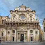 26 - Lecce - Basilica di Santa Croce, facciata.