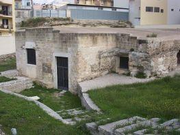31 - Andria, Laura di Santa Croce, chiesa rupestre (X secolo);