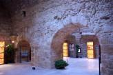 12 -Brindisi. Porta Mesagne. L'interno della fortificazione