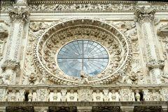 29 - Lecce - Basilica di Santa Croce. Rosone