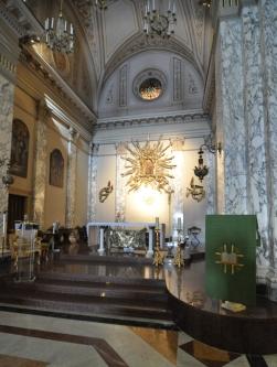 159 -Taranto. Chiesa del Carmine, interno,