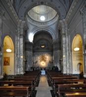 158 -Taranto. Chiesa del Carmine, interno.