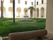 132 -Taranto. Il Marta – Museo Nazionale Archeologico. il chiostro del convento di S. Pasquale o degli Alcantarini,