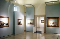 31 - Barletta, interno del palazzo. Terra e mare. Paesaggi del Sud da Giuseppe De Nittis a Giovanni Fattori Palazzo della Marra