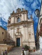 25 - Ostuni. La chiesa di San Vito Martire