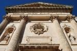 31 - Ostuni -Chiesa della Madonna del Carmine dettaglio facciata.