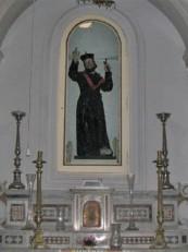 34 - Ostuni. La chiesa dello Spirito Santo, interno.