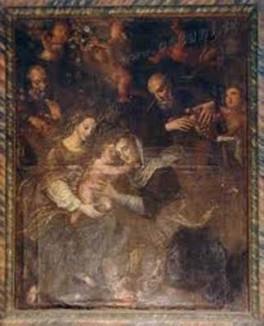 35 - Ostuni. La chiesa dello Spirito Santo, interno.