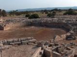 74 -Fasano. Area archeologica di Egnazia. Interessanti anche l'Anfiteatro, edificio a pianta ellittica irregolare forse adibito a mercato, il Criptoportico, la Fornace ed il grande complesso paleocristiano con Basilica e Battistero.
