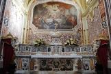 27 -Monopoli. Cattedrale Maria_Santissima_della_Madia, interno. La cappella del Santissimo Sacramento una delle nove cappelle.
