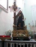 50 -Molfetta. Interno della chiesa, opere dello scultore molfettese Giulio Cozzoli.
