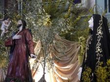36 -Fasano. Chiesa Maria S.S. Rosario, particolare del Gesù nell'orto (statua portata in processione durante i riti della Settimana Santa);