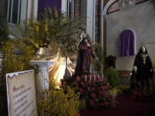 37 - Chiesa Maria S.S. Rosario.Fasano. Chiesa Maria S.S. Rosario, particolare.