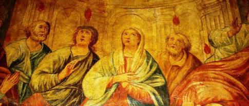 34 -Fasno. Chiesa Maria S.S. Rosario. Nella chiesa vi sono anche dipinti di scuola napoletana, tra le quali una tela di San Francesco che riceve le stimmate e un grande affresco che raffigura la Pentecoste