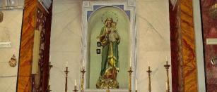 32 -Fasano. Chiesa Maria S.S. Rosario, particolare.