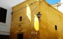 42 - Fasano. Alle porte del centro storico si scorge la chiesa di Santa Maria della Grazia (anticamente Madonna dell'Arco) che custodisce un affresco ritraente un faso, il bianco colombo da cui discende il nome della città.