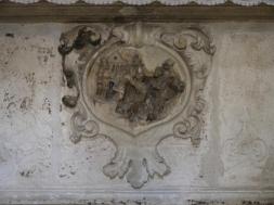 46 -Fasano. Chiesetta Madonna delle Grazie, interno, dettaglio.