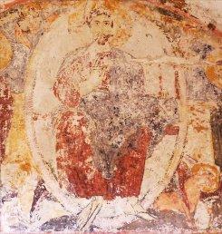 122 -Fasano. Chiesa di Lama D'Antico. Affreschi all'interno della chiesa.