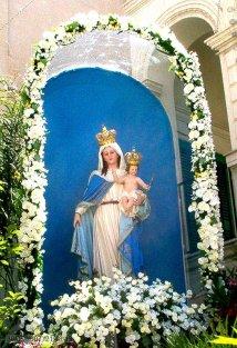 24 - Fasano – Chiesa di San Giovanni Battista. Madonna pozzo.