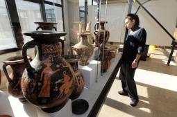 80 -Fasano. Museo Archeologico di Egnathia, interno