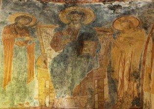134 - Interno. Cristo fra la Vergine e S. Giovanni Battista