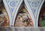 70 - Ostuni, interno del Santuario diSant'Oronzo, dettaglio