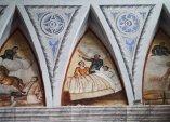 69 - Ostuni, interno del Santuario diSant'Oronzo, dettaglio