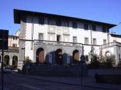 35 -Castrocaro - Palazzo Piancastelli. Edificio la cui costruzione risale al 1718, le forme attuali risalgono ad una ristrutturazione del 1938