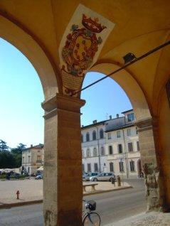 80 -Terra del Sole -Loggiato del Palazzo Pretorio -