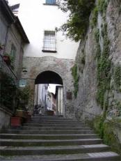 42 -Castrocaro - Porta San Francesco. consentiva l'accesso alla seconda cerchia muraria del castello