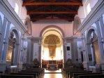 76 -Terra del Sole (FC) - Interno della Chiesa di S. Reparata. , al cui interno sono conservati quadri del cinquecento e seicento, un crocifisso ligneo cinquecentesco, un organo settecentesco e mobili di quei secoli rinascimentali.