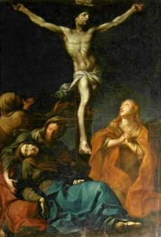54 -Chiesa di Pieve Salutare, interno Crocifissione, sec. XVII