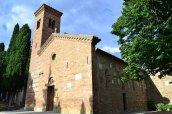 31 -Bertinoro Pieve di San Donato in Polenta. Polenta dista 4 km da Bertinoro.
