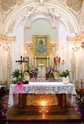 45 -Bertinoro e il Santuario della Madonna del Lago interno dettaglio