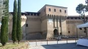 17 -Forlimpopoli. Rocca Albornoziana, fronte meridionale