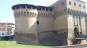 15 -Forlimpopoli. Rocca Albornoziana fronte occidentale.
