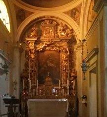 38 - Forlimpopoli, dettaglio dell' Altare della Basilica di San Ruffillo,
