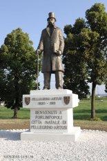 6 -Forlimpopoli.Il monumento dedicato a Pellegrino Artusi, dettaglio.