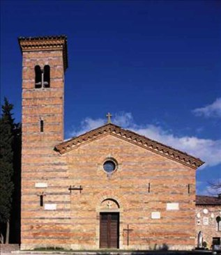 34 - Bertinoro Pieve di Polenta- facciata