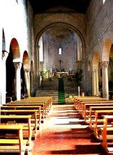 107 -Viterbo Città d'Arte - Chiesa di San Sisto, interno.