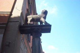 58 -Il Leone, emblema di Viterbo